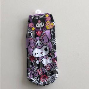 NWT Sanrio Kuromi Ankle Socks